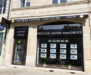 Lanteri immobilier index agence immobili re sur for Agents immobiliers bordeaux